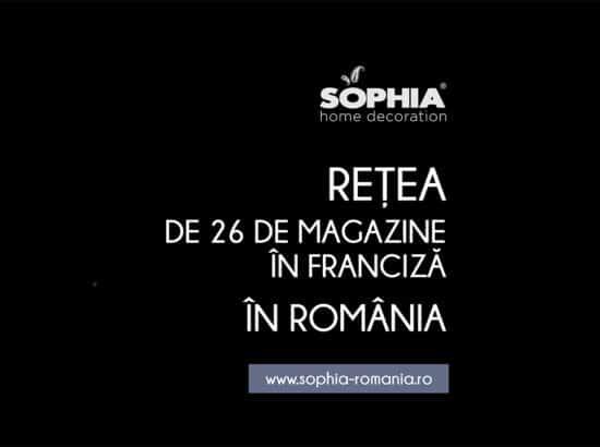 SOPHIA Home Decoration brand 100% romanesc